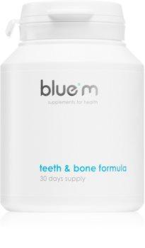 Blue M Supplements for Health Teeth & Bone Formula Nahrungsergänzungsmittel  für die Zähne
