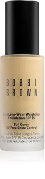 Bobbi Brown Skin Foundation Long-Wear Even Finish dolgoobstojen tekoči puder SPF 15