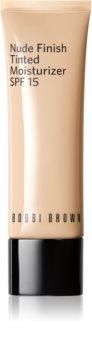 Bobbi Brown Nude Finish Tinted Moisturizer lahki vlažilni tekoči puder SPF 15