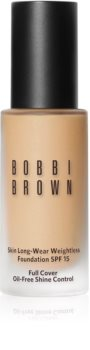 Bobbi Brown Skin Long-Wear Weightless Foundation fond de teint longue tenue SPF 15