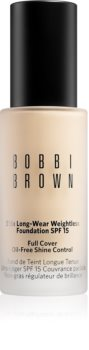 Bobbi Brown Skin Long-Wear Weightless Foundation дълготраен фон дьо тен SPF 15