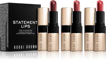 Bobbi Brown Statement Lips ensemble de rouges à lèvres