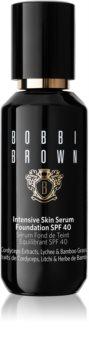Bobbi Brown Intensive Skin Serum Foundation λαμπρυντικό ρευστό μεικ απ SPF 40