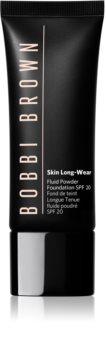 Bobbi Brown Skin Long Wear Fluid Powder Foundation течен фон дьо тен с матов завършек SPF 20