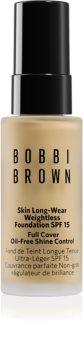 Bobbi Brown Mini Skin Long-Wear Weightless Foundation μακράς διαρκείας μεικ απ SPF 15