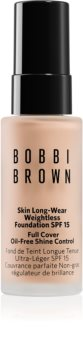 Bobbi Brown Mini Skin Long-Wear Weightless Foundation dlouhotrvající make-up SPF 15