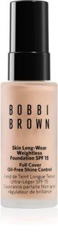 Bobbi Brown Mini Skin Long-Wear Weightless Foundation fond de teint longue tenue SPF 15