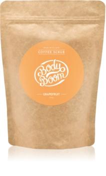 BodyBoom Grapefruit скраб за тяло с кафе