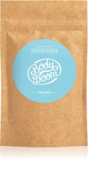 BodyBoom Coconut peeling corps au café
