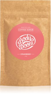 BodyBoom Strawberry Kaffeekörperpeeling