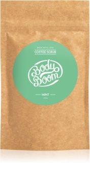 BodyBoom Mint kávé test peeling