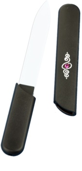 Bohemia Crystal Hard Decorated Nail File lima per unghie