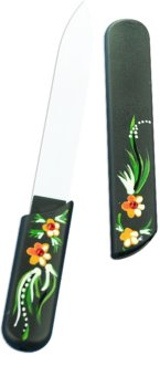 Bohemia Crystal Hard Painted Nail File lima per unghie