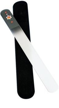 Bohemia Crystal Swarovski Big Nail File with Flower lima per unghie