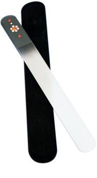 Bohemia Crystal Swarovski Big Nail File with Flower pilník na nechty