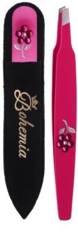 Bohemia Crystal Bohemia Swarovski Nail File and Tweezers set de cosmetice II. pentru femei