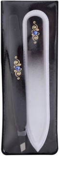 Bohemia Crystal Bohemia Swarovski Nail File and Tweezers Gift Set  V. (voor Perfecte Uitstraling )