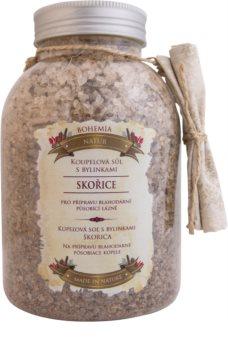 Bohemia Gifts & Cosmetics Bohemia Natur sol za kopel z zelišči za sprostitev notranje napetosti