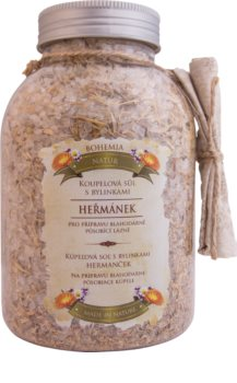 Bohemia Gifts & Cosmetics Bohemia Natur sel de bain 3 plantes