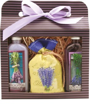 Bohemia Gifts & Cosmetics Lavender Gift Set I. for Women