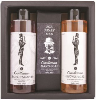 Bohemia Gifts & Cosmetics Gentlemen Spa Gift Set II. (for Men)