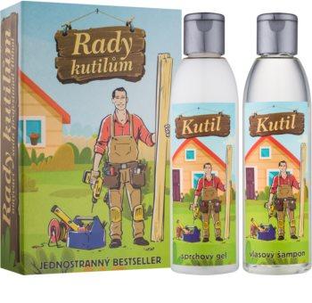 Bohemia Gifts & Cosmetics Pro Kutily kozmetički set I. (za muškarce)