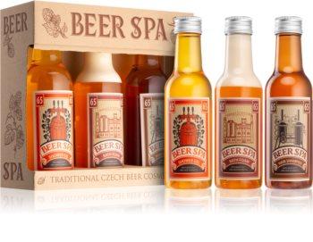 Bohemia Gifts & Cosmetics Beer Spa Gavesæt  (til krop og hår)
