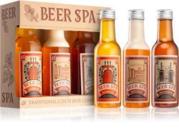 Bohemia Gifts & Cosmetics Beer Spa Gift Set (for Body and Hair)