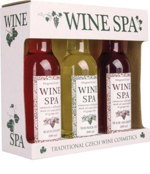 Bohemia Gifts & Cosmetics Wine Spa dárková sada (pro ženy)