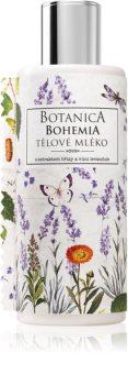 Bohemia Gifts & Cosmetics Botanica mleczko do ciała o zapachu lawendy