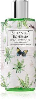 Bohemia Gifts & Cosmetics Botanica gel doccia con olio di cannabis