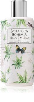 Bohemia Gifts & Cosmetics Botanica lait corporel à l'huile de chanvre