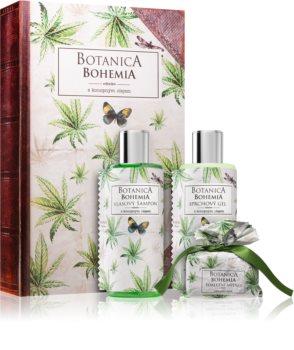 Bohemia Gifts & Cosmetics Botanica dárková sada s konopným olejem