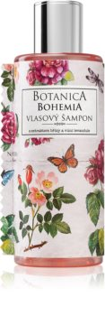 Bohemia Gifts & Cosmetics Botanica Haarshampoo mit dem Extrakt der Hunds-Rose