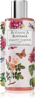 Bohemia Gifts & Cosmetics Botanica šampón na vlasy s výťažkom zo šípovej ruže