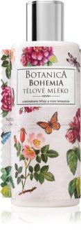 Bohemia Gifts & Cosmetics Botanica тоалетно мляко за тяло с екстракт от диви рози