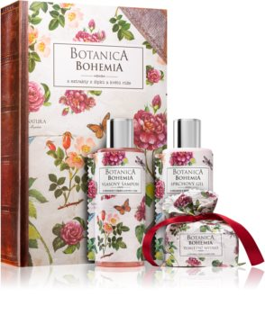 Bohemia Gifts & Cosmetics Botanica Gift Set (With Extracts Of Wild Roses) for Women