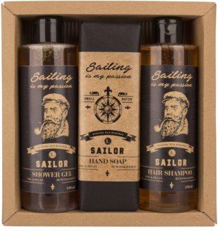Bohemia Gifts & Cosmetics Sailor dárková sada pro muže
