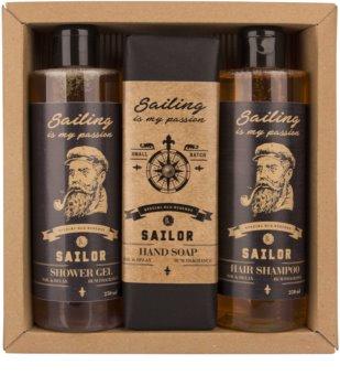 Bohemia Gifts & Cosmetics Sailor σετ δώρου για άντρες