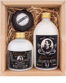 Bohemia Gifts & Cosmetics Gentlemen Spa poklon set (za kupke) za muškarce