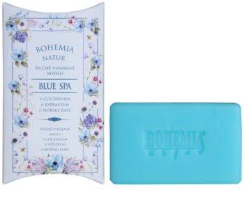 Bohemia Gifts & Cosmetics Blue Spa jabón con textura de crema con glicerina