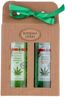 Bohemia Gifts & Cosmetics Cannabis Gift Set  (voor in de Douch)