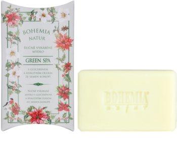 Bohemia Gifts & Cosmetics Green Spa jabón con textura de crema con glicerina