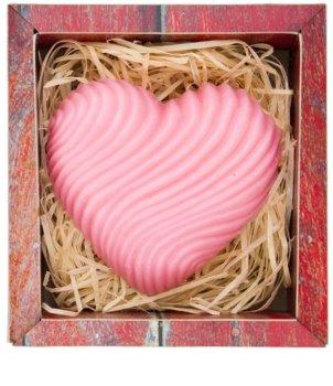 Bohemia Gifts & Cosmetics Heart ročno izdelano milo z glicerinom