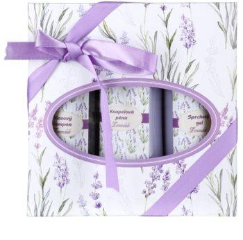 Bohemia Gifts & Cosmetics Lavender kosmetická sada V. pro ženy