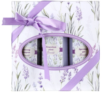 Bohemia Gifts & Cosmetics Lavender lote cosmético V. para mujer