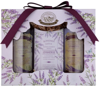 Bohemia Gifts & Cosmetics Lavender kozmetická sada VIII. pre ženy