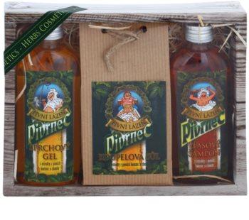 Bohemia Gifts & Cosmetics Pivrnec kosmetická sada V. (pro muže)