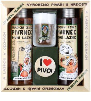 Bohemia Gifts & Cosmetics Pivrnec kosmetická sada VIII. (pro muže)