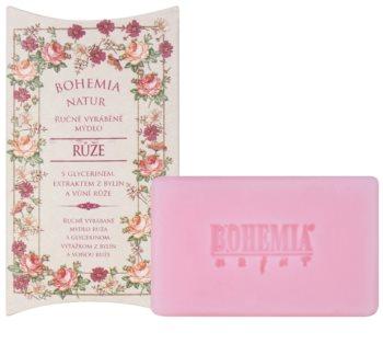 Bohemia Gifts & Cosmetics Rosarium jabón con textura de crema con glicerina